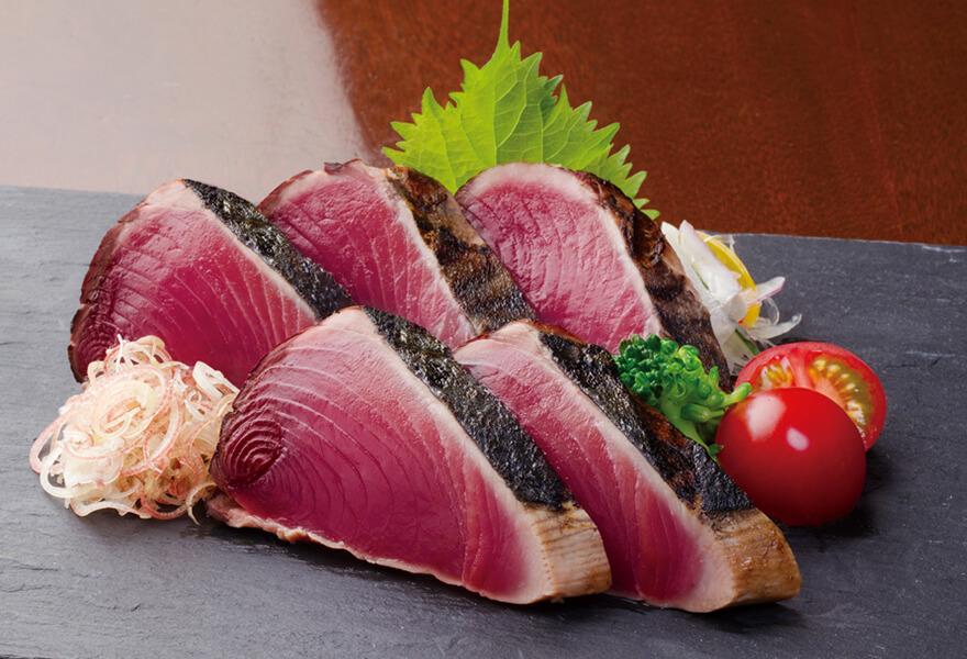 鰹のたたき・刺身海鮮と龍馬鍋セット