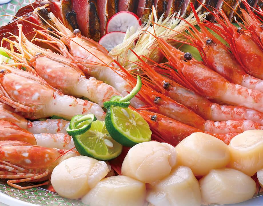 パーティセット(鰹のたたき+刺身海鮮)