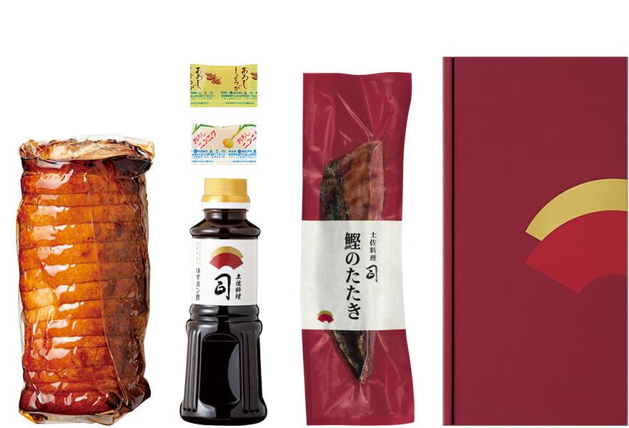 鰹のたたき・土佐ポーク焼き豚セット