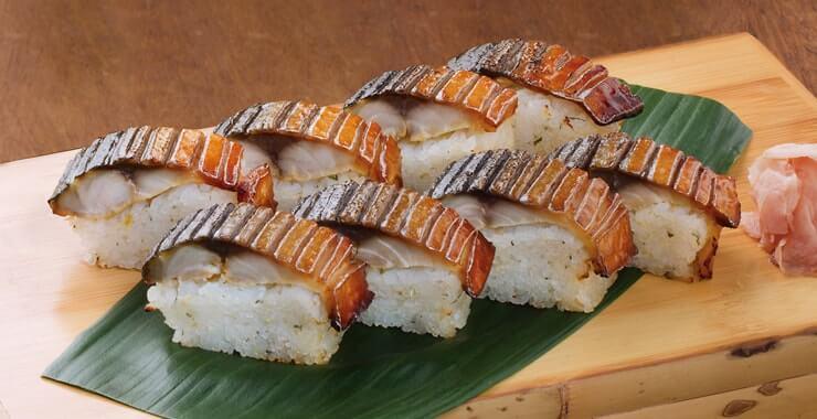 焼き鯖すし(単品)8貫